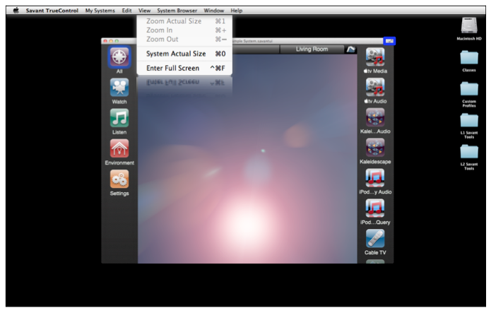 Savant truecontrol for mac user guide symbio actual size view malvernweather Image collections